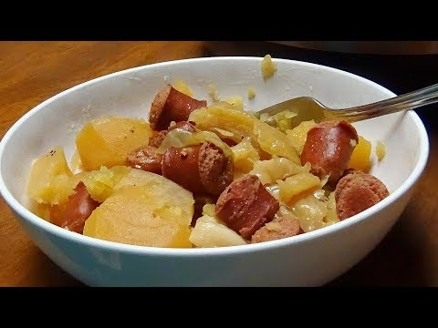 Favorite Instant Pot Recipe -- Cabbage, Smoked Sausage And Potatoes Easy & Quick