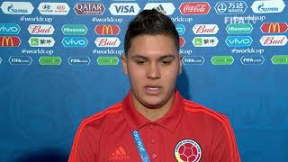 juan quintero colombia - post match interview - match 16