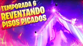 Video de *TEMPORADA 6* EL CUBO DESTRUIRÁ PISOS PICADOS FORTNITE Battle Royale