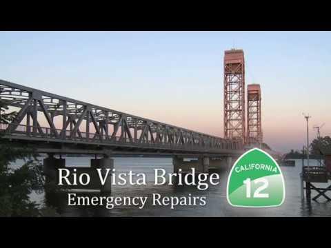 Rio Vista Bridge Repair - Caltrans News Flash #177