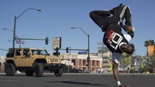 Bboy CRAZY MONKEY  in Las Vegas | YAK FILMS x FIGURE 2 STYLE