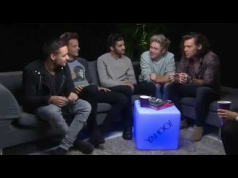 One Direction interview with Yahoo 2014