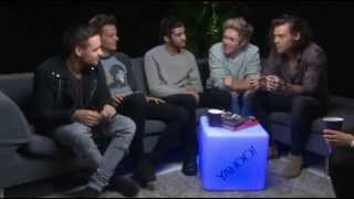 vuclip One Direction interview with Yahoo 2014