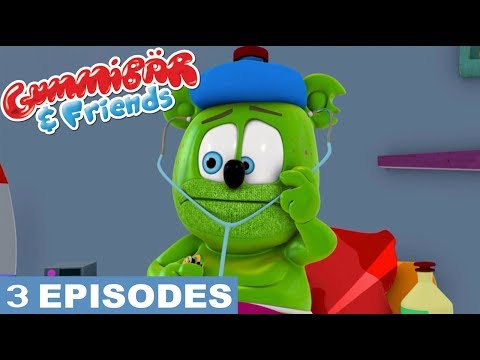 "Gummy Bear Show ""Falling Ill"" Episode Compilation Gummibär And Friends"