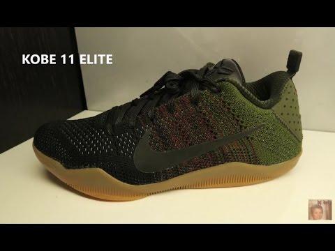 official photos 8764a b114e Nike Kobe 11 Black Horse Elite Sneaker Detailed Look