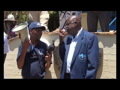 Windhoek Vocational Training Centre Employees threaten to down tools. By: Joseph Sheefeni