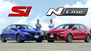 2019 Hyundai Elantra GT N Line vs Honda Civic Si // Bargains Of The Decade