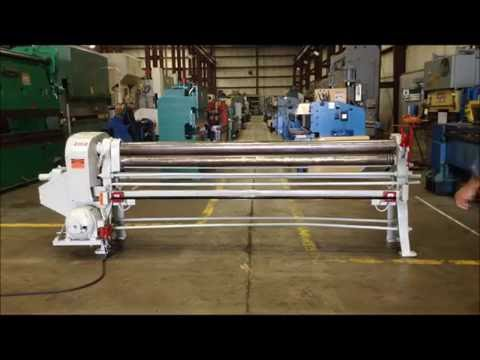 Used 8' x 18 ga. Milton Roll, #26586