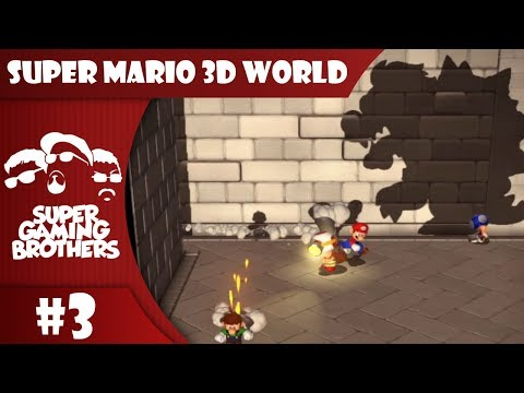 SGB Play: Super Mario 3D World - Part 3 | I See A Big Silhouetto Of A Turtle