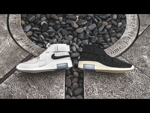 "Nike Air Fear of God Raid ""Light Bone"" & ""Black"": Review & On-Feet"