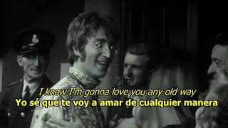 Baby It S You The Beatles LYRICS LETRA Original Revisited