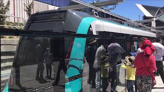 Cherrybrook Station with trains Open Day Sydney Metro