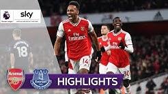 Arsenal dank Aubameyang in 2020 weiter ungeschlagen! | FC Arsenal - FC Everton 3:2 | Highlights