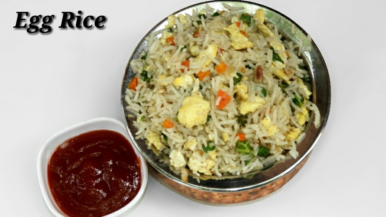 how to make egg rice in kannada