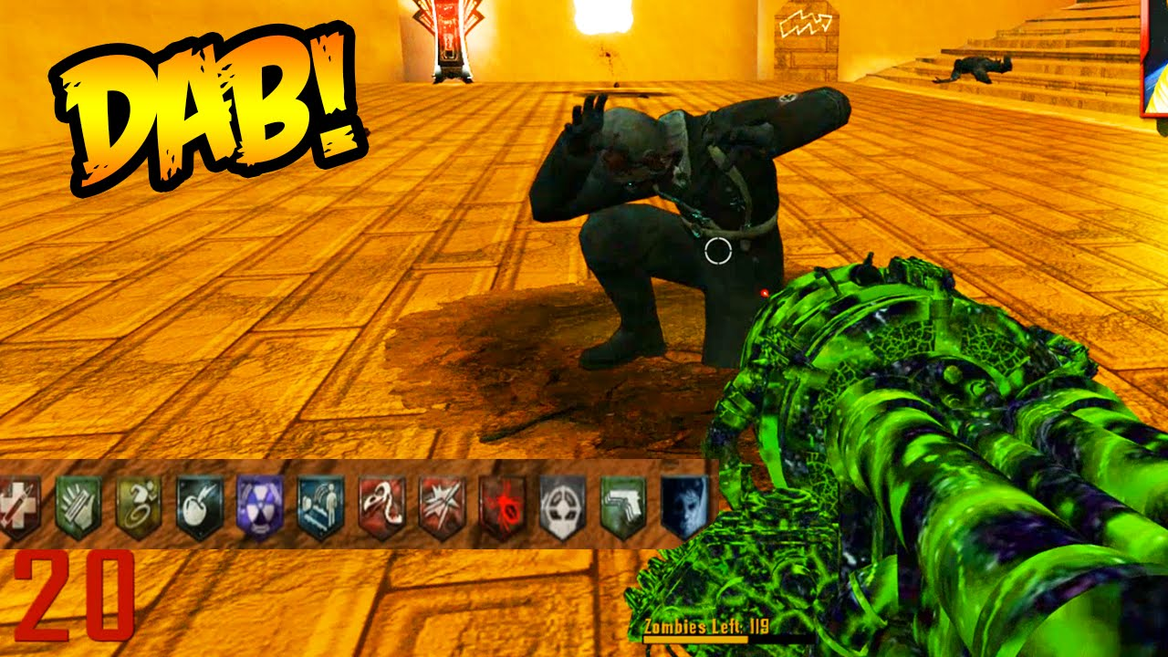 """""""EPIC ZOMBIE DAB!"""" STAIRWAY TO HELL NEW ZOMBIES MAP ..."""
