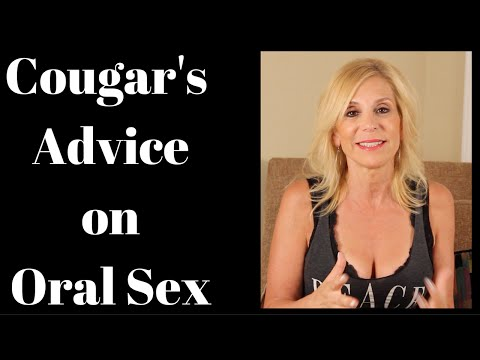 A Cougar's Best Oral Sex Advice