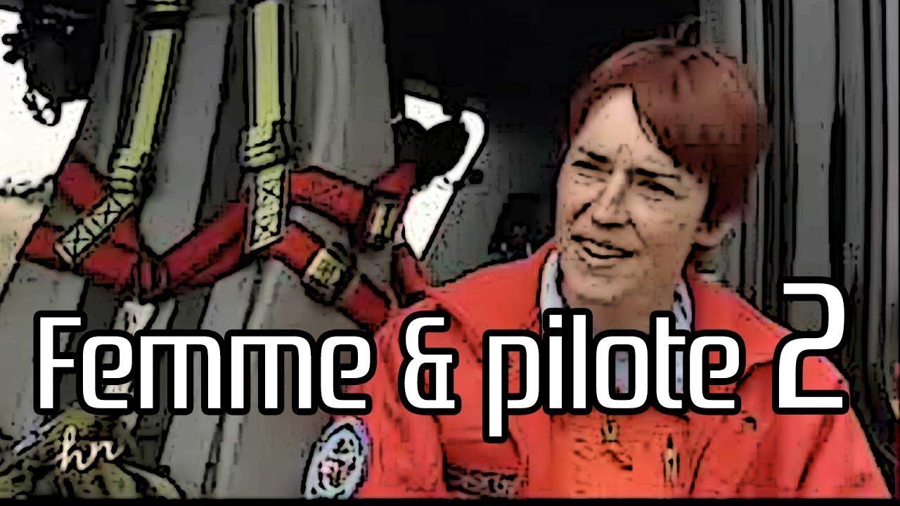 Véronique Lacoste, pilote d'hélicoptère GHSC en base mer