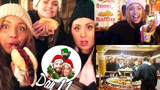 Harrods Fudge, Winter Wonderland & Churro Dance! ❄ Vlogmas 11 Thumbnail