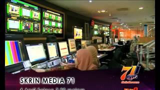 HARI RTM 71 (TV2): SKRIN MEDIA 71