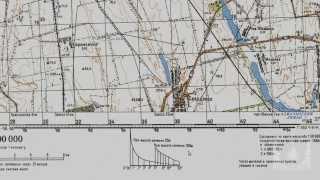 Работа с топографической картой (часть 3 из 5)