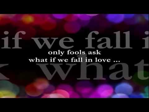 What If We Fall In Love    Lyrics    Sheena Easton and Eugene Wilde