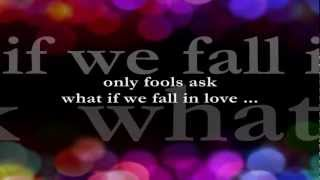 What If We Fall In Love  || Lyrics ||  Sheena Easton and Eugene Wilde