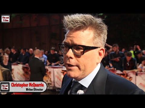Christopher McQuarrie Interview - Mission Impossible: Rogue Nation Premiere