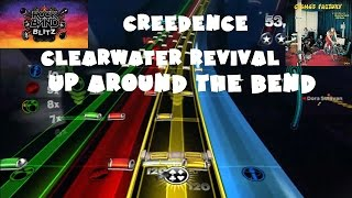 Creedence Clearwater Revival - Up Around the Bend - @RockBand Blitz Playthrough (5 Gold Stars)