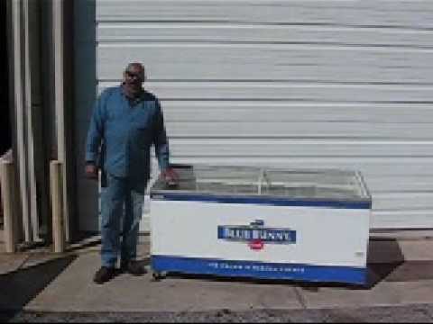 Commercial Merchandising Display Freezer For Sale Panama City Florida Blue Bunny Total Refrigeration