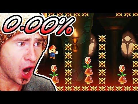 0.00% Completion AGAIN ~ Super Mario Maker SUPER EXPERT