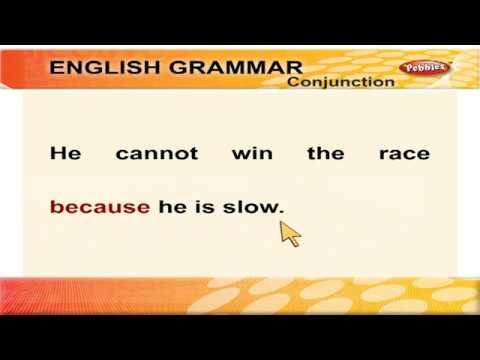 Conjunction Learn English Grammar Through Tamil Spoken English Through Tamil