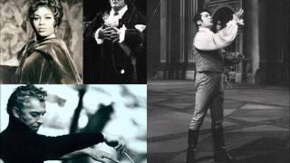 Tosca [Act 3] - di Stefano, Price, Taddei (1962 studio recording - cond. Herbert von Karajan)