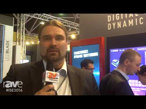 ISE 2016: Craneworks Overviews Dynamic Wayfinding Offerings