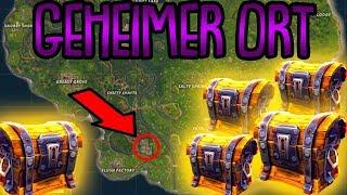 GEHEIMER ORT MIT VIELEN TRUHEN! | (sehr viel Loot) | Fortnite Battle Royale