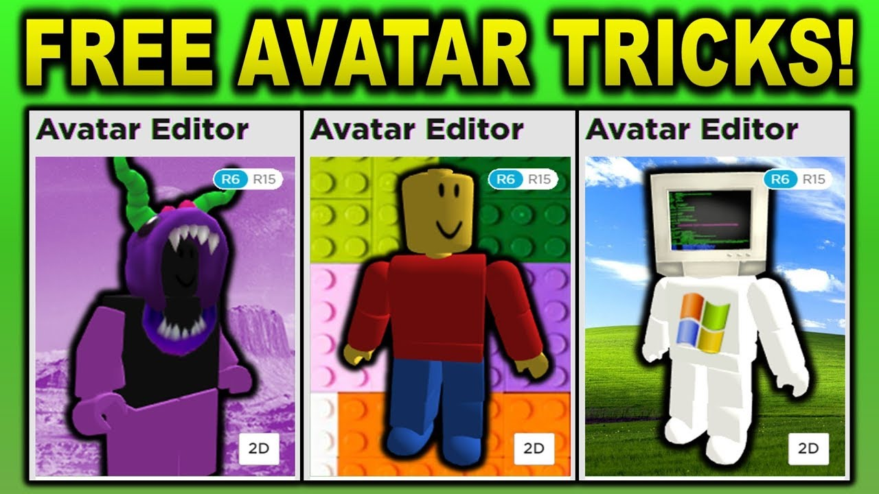 Roblox Avatar Tricks That Cost 0 Robux YouTube
