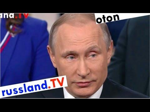Putin auf deutsch zur Rolle der Presse