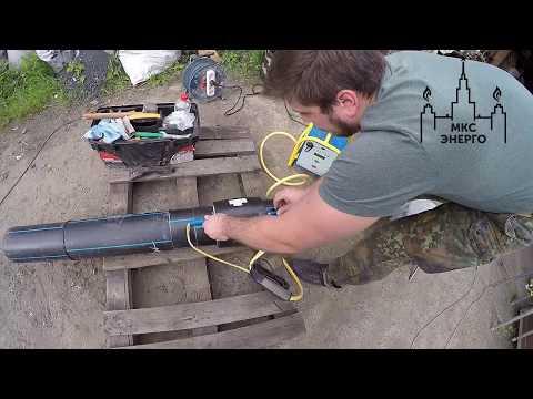 Муфтовая сварка полиэтиленовой трубы