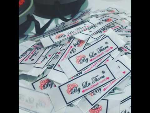 Printed satin label Malaysia