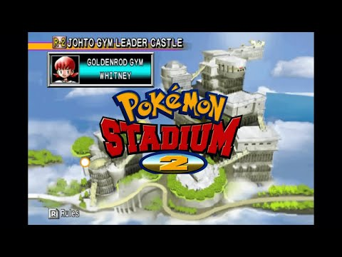 Pokémon Stadium 2 - Johto Gym Leader Castle - Goldenrod Gym