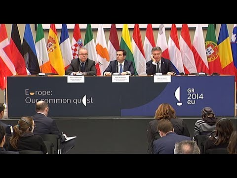 Informal Foreign Affairs Council (Trade) - Press conference - 28/02/2014