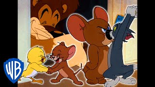 Tom & Jerry | Jerry's Super Team! | Classic Cartoon Compilation | WB Kids