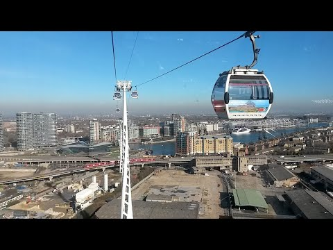 Emirates Cable Car Experience filmed with multi cameras.