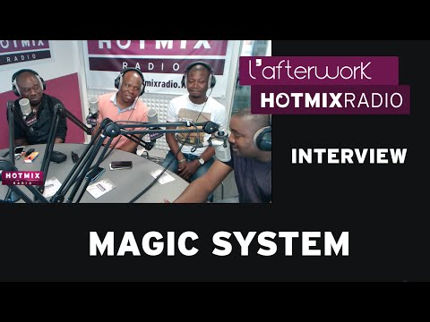 Magic System sur Hotmixradio