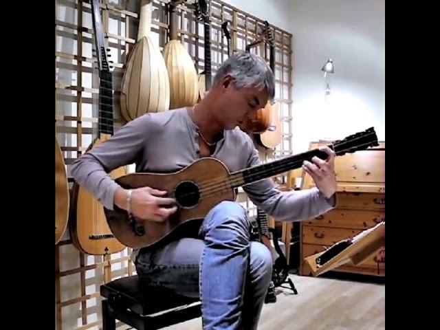 Так звучит единственная сохранившаяся гитара Страдивари 1679 года  Рольф Лислеванд исполняет таранте