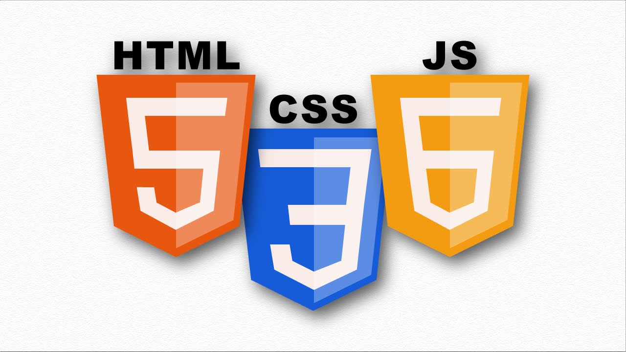 HTML5, CSS3 and JS6