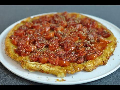 Recette g niale de la tarte tatin la tomate cerise youtube for Noctuelle de la tomate