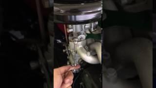 Probleme acceleration moteur renault 4cv dauphine