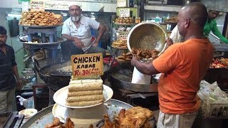Chicken Kabab 30 Rs | Fish Shami Kabab 25 Rs | Shahi Tukda 25 Rs |  Street Food Jama Masjid Delhi