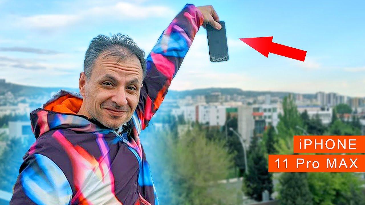 დაიმსხვრა iPhone 11 Pro Max
