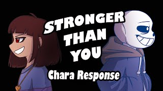 Stronger Than You - Chara Response (Undertale Animation Parody) thumbnail